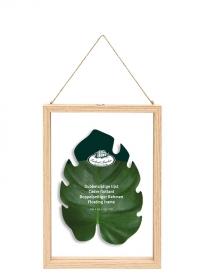 Декоративная настенная рамка для гербария 30х21 см ML034 Esschert Design фото