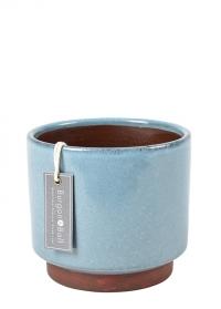 Керамическое кашпо для комнатных растений Malibu Blue Indoor pots от Burgon & Ball фото