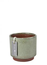 Керамическое кашпо для комнатных растений Malibu Green Burgon & Ball фото