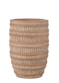 Терракотовое кашпо для цветов Jillia 21,5 см Lene Bjerre фото