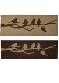 Коврик из кокосового волокна «Птицы на ветке» Esschert Design фото.jpg