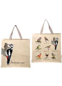 Сумка-шоппер хозяйственная Птицы Birds TP309 Esschert Design фото