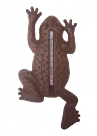 Термометр настенный для дачи Лягушка TH62 Esschert Design фото