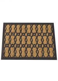 Коврик придверный 60x40 см Honeycomb Smart Garden фото