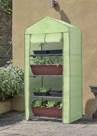 Складная мобильная теплица с флисовым чехлом Classic GroZone Fleece Smart Garden фото