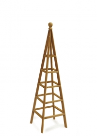Садовый деревянный обелиск для вьющихся растений 1,5 м. Smart Garden фото