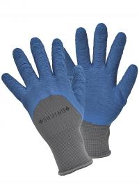 Перчатки садовые многофункциональные с латексом Multi-Task Blue Briers фото