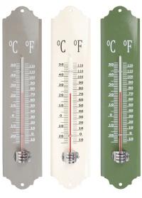 Термометр настенный металлический для дачи EL026 Esschert Design фото