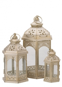 Набор напольных подсвечников- фонарей 3 шт. Kings Lanterns Smart Garden фото