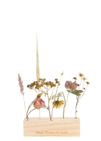 Деревянная подставка для сухоцветов FH017 Esschert Design фото