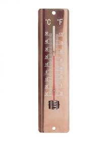 Термометр настенный 20 см. Blech Copper AJS-Blackfox фото