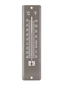 Термометр настенный 20 см. Blech Grey AJS-Blackfox фото