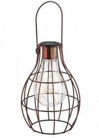 Декоративный фонарь на солнечной батарее Eureca Large! Smart Garden фото