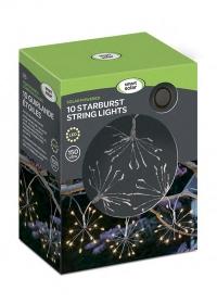 Гирлянда уличная светодиодная на солнечной батарее StarBurst Smart Garden фото