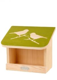 Деревянная настенная кормушка для птиц Домик FB541 Esschert Design фото