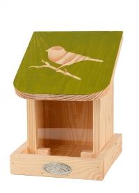 Деревянная настенная кормушка для птиц Домик FB540 Esschert Design фото