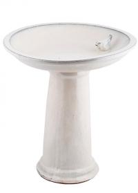 Купальня для птиц керамическая на подставке Cream FB423 Esschert Design фото