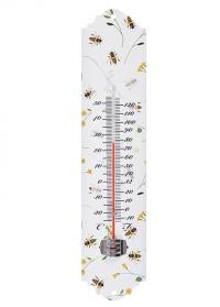 Термометр настенный с принтом Пчелы BEE032 Esschert Design фото