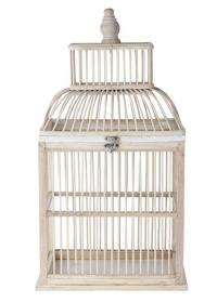Декоративная птичья клетка из бамбука Lene Bjerre фото.jpg