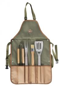 Фартук с инструментами для барбекю Esschert Design