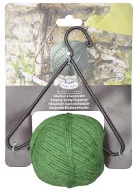Веревка для растений джутовая с подвесом W2904 Esschert Design фото.jpg