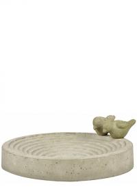 Купальня для птиц из декоративного бетона Esschert Design FB297 фото