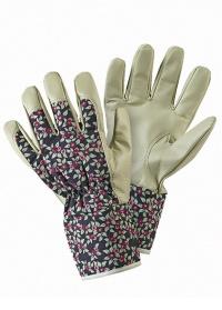 Перчатки садовые кожаные Plum Floral Briers