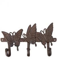 Крючок декоративный «Бабочки» Esschert Design