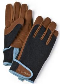 Перчатки мужские Dig The Glove Denim Burgon & Ball фото