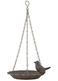 Кормушка для птиц чугунная с птичкой Esschert Design FB378 фото