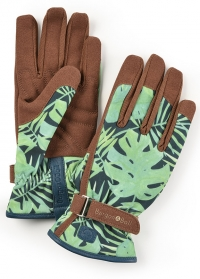 Садовые перчатки для работы с растениями Tropical Love the Glove Burgon & Ball фото