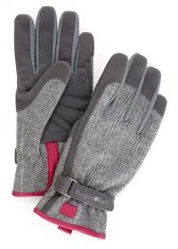 Перчатки для работы в саду из твида Grey Tweed Love the Glove от Burgon & Ball фото