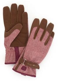 Перчатки женские для работы в саду Love the Glove Red Tweed Burgon & Ball фото