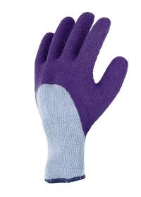 Перчатки латексные для работы с розами Rosiers Violet AJS-Blackfox