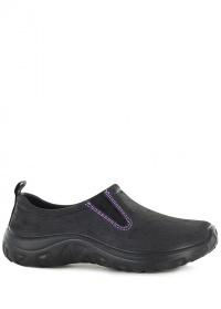 Туфли женские из эва DERBY Black AJS-Blackfox фото