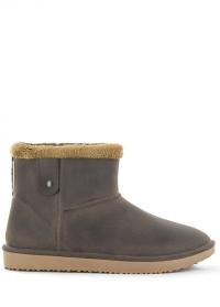 Ботинки угги зимние резиновые Marron-Beige Ankle Boot Cheyenne AJS-Blackfox фото
