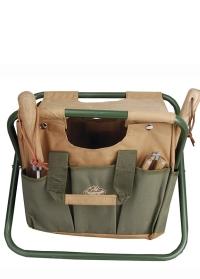 Садовый стул с сумкой для инструментов Esschert Design