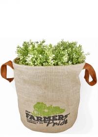 Кашпо для растений джутовое «Фермер» Esschert Design FP20, размер М фото