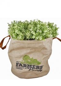 Кашпо для растений джутовое «Фермер» FP021 Esschert Design фото