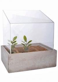 Мини-теплица настольная для рассады и цветов AGG42 Esschert Design фото