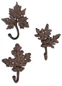 Крючки декоративные Листья LH94 Esschert Design фото