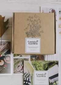 Подарочная крафт коробка 17х17 см Consta Garden фото