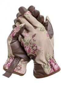 Перчатки садовые кожаные Classic Collection GardenGirl GSG02 фото