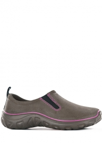 Туфли дачные женские из эва Derby Brown-Rose AJS Blackfox фото