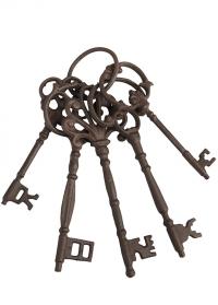 Ключи декоративные чугунные Esschert Design DB63 фото