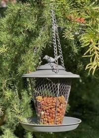 Металлическая кормушка для птиц для орехов Grey Metal Esschert Design