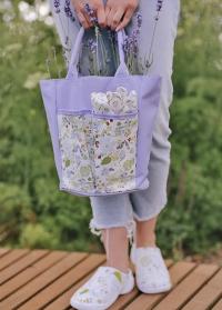 Садовая обувь и аксессуары Lavender Garden Briers картинка.jpg
