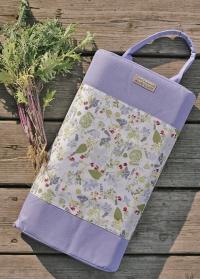 Коврик под колени для работы в саду и огороде Lavender Garden Briers фото.jpg
