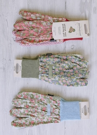 Перчатки для работы с растениями из хлопка с пупырышками Orangery Julie Dodsworth Briers фото