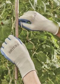Садовые перчатки из бамбукового волокна с латексом Bamboo Blue Briers фото